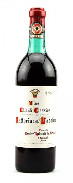 Wein 1969 Chianti Classico Fattoria delle Lodoline
