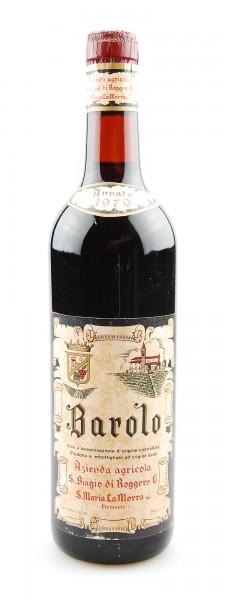 Wein 1970 Barolo San Biagio di Roggero