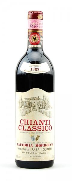 Wein 1988 Chianti Classico Fattoria Morrocco
