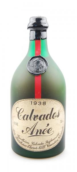 Calvados 1938 Anée Appelation Calvados Controlee