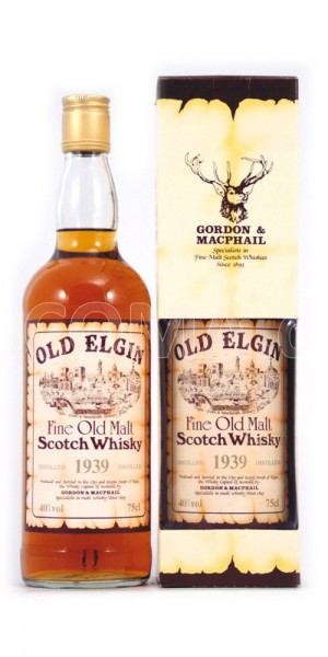 Whisky 1939 Old Elgin Fine Old Malt Scotch Whisky