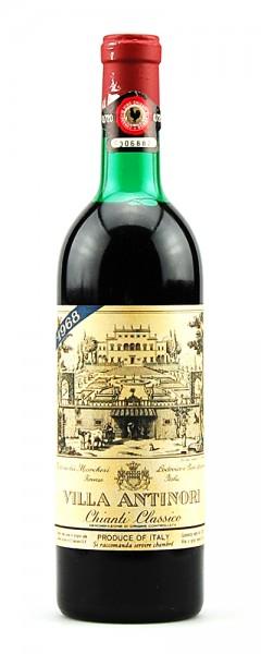 Wein 1968 Chianti Classico Villa Antinori