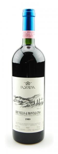 Wein 1989 Brunello di Montalcino La Serena Rasa