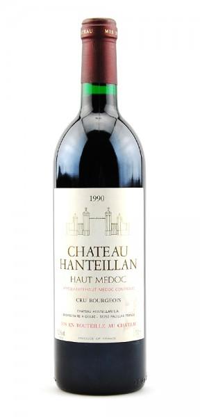 Wein 1990 Chateau Hanteillan Haut Medoc Cru Bourgeois