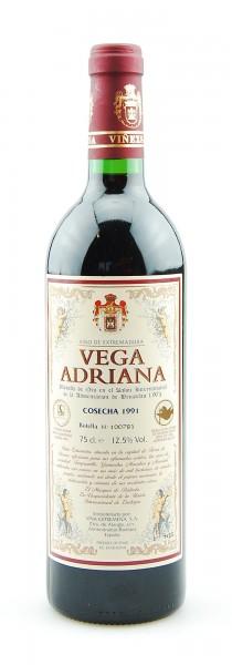 Wein 1991 Vega Adriana Cosecha