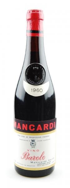 Wein 1960 Barolo Carlo Mancardi