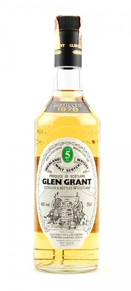 Whisky 1978 Glen Grant Highland Malt 5 years old