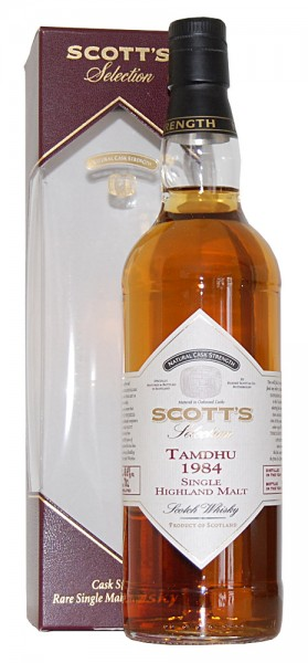 Whisky 1984 Tamdhu Single Highland Malt Scotch
