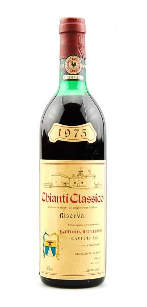 Wein 1975 Chianti Classico Belvedere Riserva