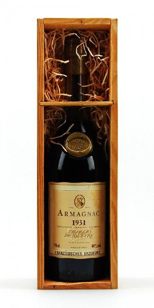 Armagnac 1931 Armagnac Charles de Squeyre Reserve