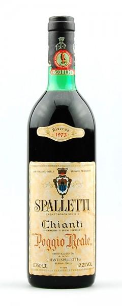 Wein 1973 Chianti Spalletti Rufina Poggio Reale Riserva