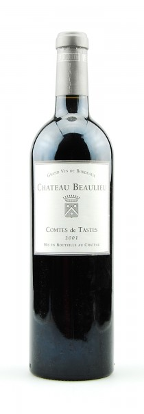Wein 2001 Chateau Beaulieu Comtes de Tastes