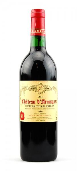 Wein 2004 Chateau d-Armagnac Dufour