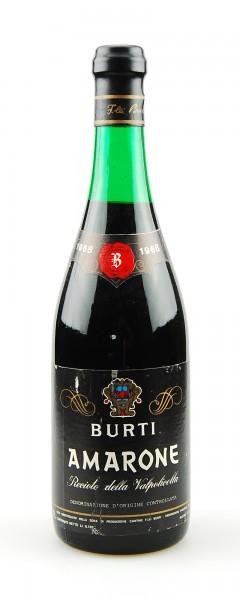 Wein 1968 Amarone Recioto della Valpolicella Burti
