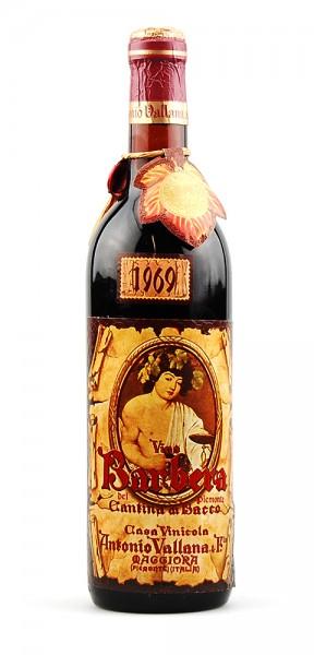Wein 1969 Barbera Cantina di Bacco Antonia Vallana