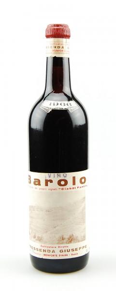 Wein 1966 Barolo Giuseppe Pressenda