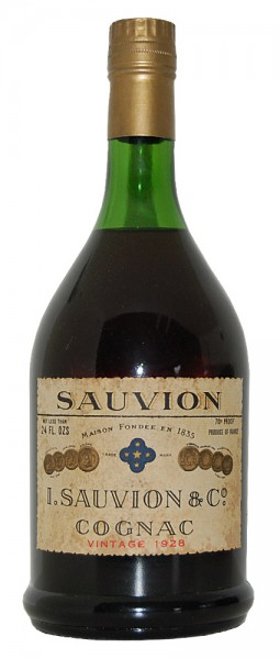 Cognac 1928 Sauvion Vintage
