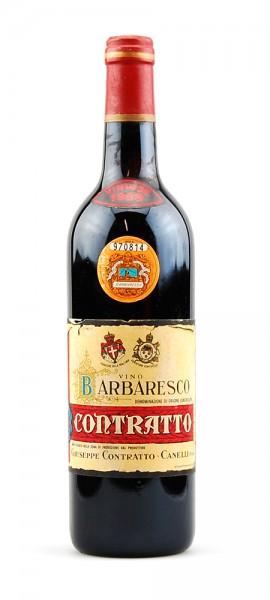 Wein 1968 Barbaresco Contratto