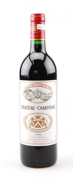 Wein 1989 Chateau Camensac 5eme Grand Cru Classe