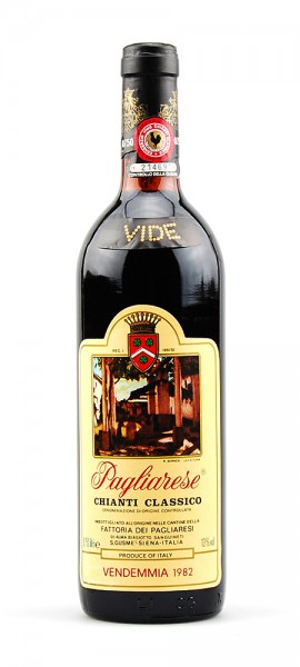 Wein 1982 Chianti Classico Pagliarese