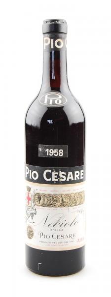 Wein 1958 Nebbiolo Pio Cesare