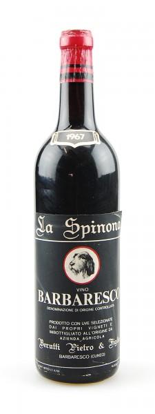 Wein 1967 Barbaresco La Spinona Pietro Berutti