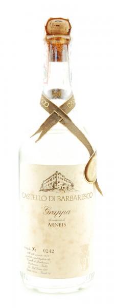 Grappa 1978 Arneis Castello di Barbaresco