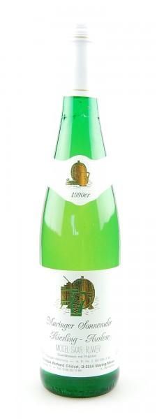 Wein 1990 Maringer Sonnenuhr Riesling Auslese