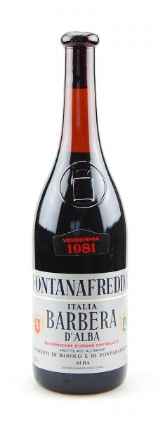 Wein 1981 Barbera d´Alba Fontanafredda