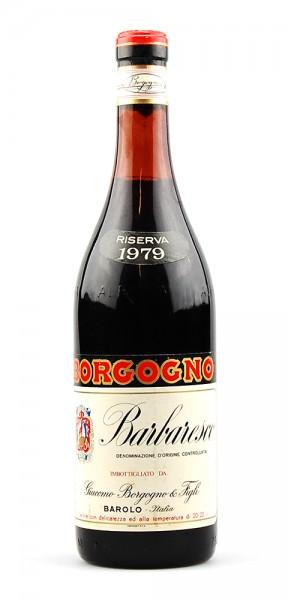 Wein 1979 Barbaresco Giacomo Borgogno Riserva