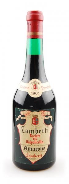 Wein 1964 Amarone Recioto della Valpolicella Lamberti