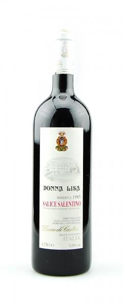 Wein 1985 Salice Leone de Castris Riserva Salentino