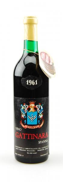 Wein 1961 Gattinara Spanna Ermanno Conti