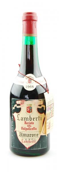 Wein 1968 Amarone Recioto della Valpolicella Lamberti