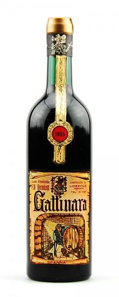 Wein 1955 Gattinara Berteletti Castello di Lozzolo