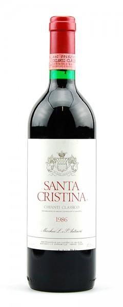 Wein 1986 Chianti Classico Santa Cristina Antinori