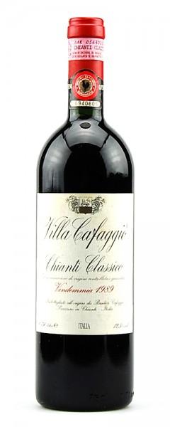Wein 1989 Chianti Classico Villa Cafaggio