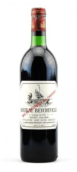 Wein 1981 Chateau Beychevelle