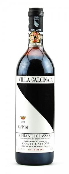 Wein 1981 Chianti Classico Riserva Villa Calcinaia