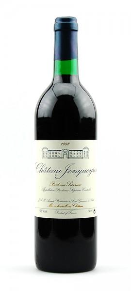 Wein 1992 Chateau Jonqueyres Grand Vin Bordeaux
