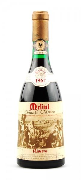 Wein 1967 Chianti Classico Melini Riserva