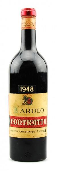 Wein 1948 Barolo Giuseppe Contratto