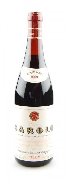Wein 1969 Barolo F.lli Serio & Battista Borgogno