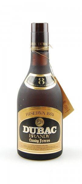 Brandy 1974 Dubac Riserva Landy Freres Invecchiato