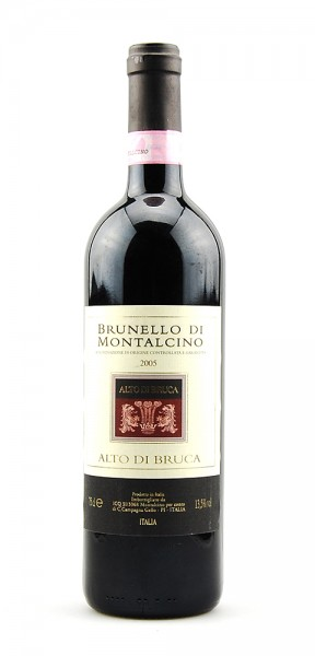 Wein 2005 Brunello di Montalcino Alto di Bruca