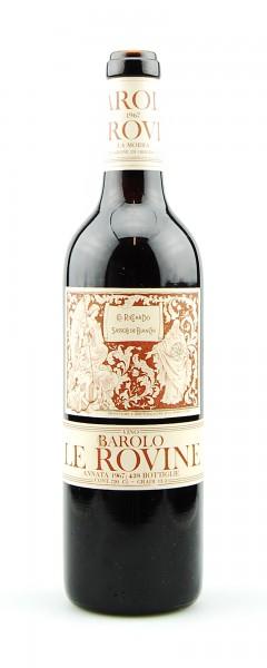Wein 1967 Barolo Le Rovine