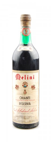 Wein 1967 Chianti Riserva Melini