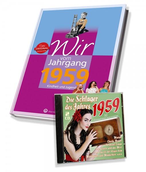 Zeitreise 1959 - Wir vom Jahrgang & Schlager 1959