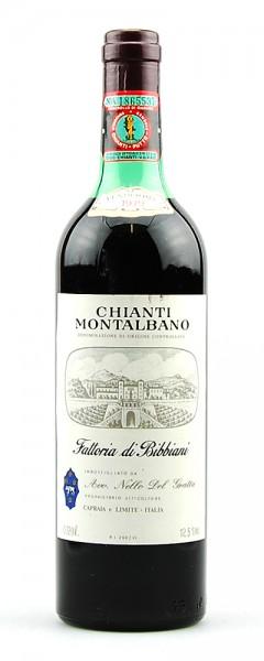 Wein 1979 Chianti Montalbano Fattoria di Bibbiani