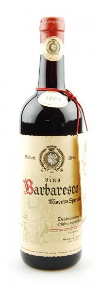 Wein 1964 Barbaresco Riserva Speciale Valfieri
